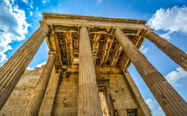 A democracia teve origem na Grécia Antiga